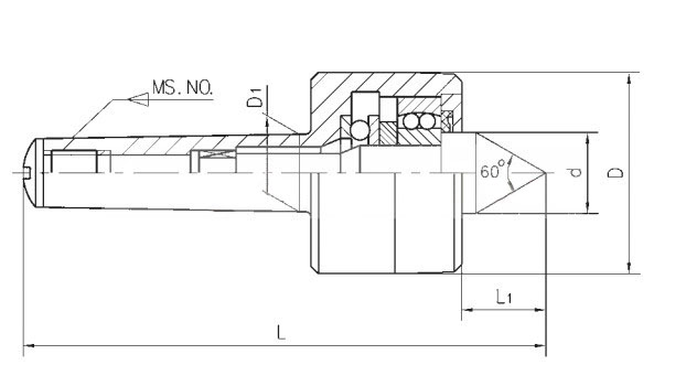 机床 机床附件 顶尖顶针 重型回转顶针,mt4  产品特点features 重型