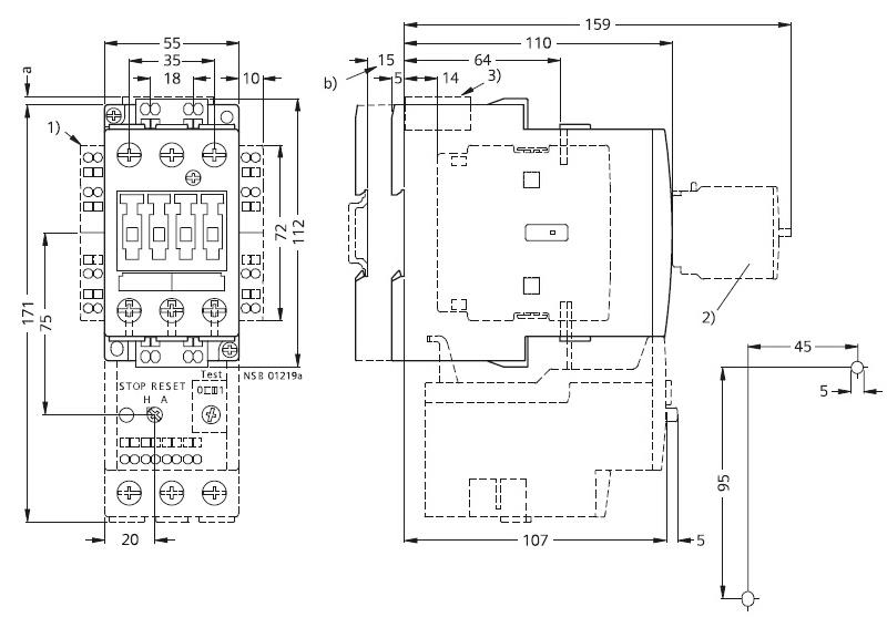 西门子 直流线圈接触器,3rt10363bf40