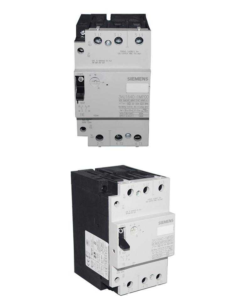 西门子 电机保护断路器,3vu16400mh00